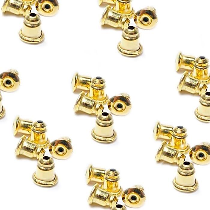 Tarracha bala dourada (1.000 pares)- TBD001 ATACADO