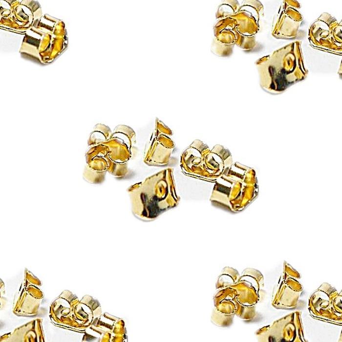 Tarracha Borboleta dourada (1000 pares)- TBAD001 ATACADO