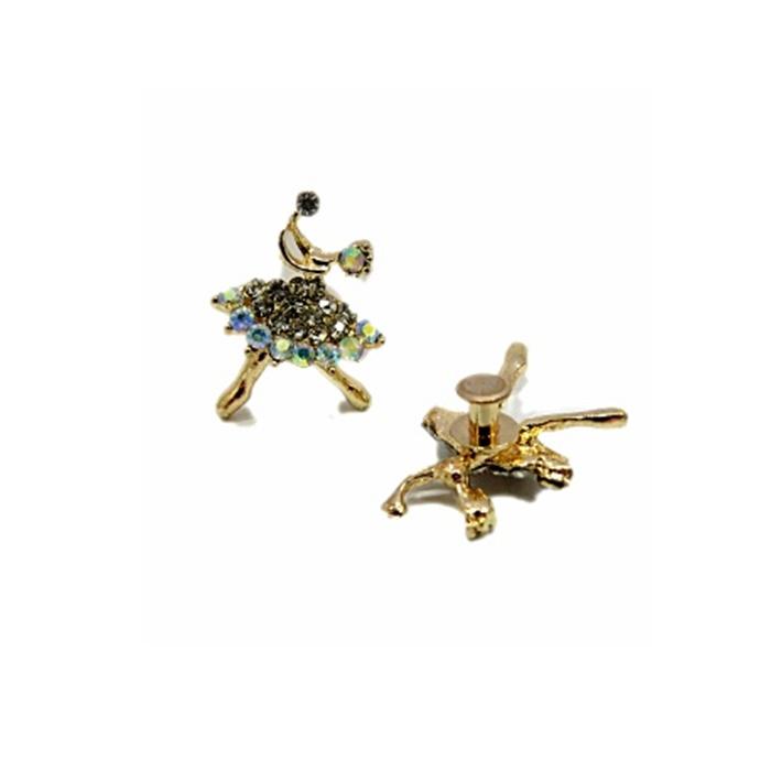 Piercing Bailarina dourada (Par)- PID64