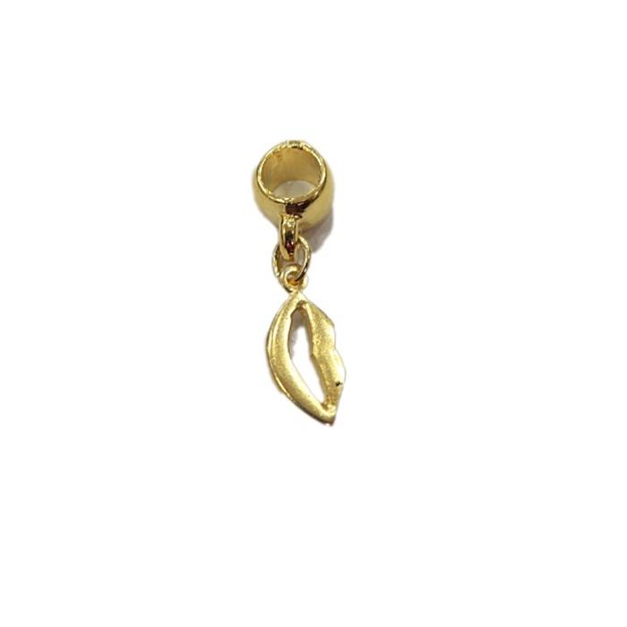 berloque Dourado Boca BED014
