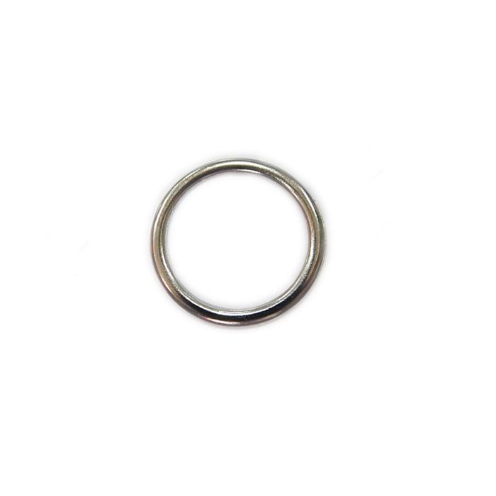 Argola de metal níquel 3cm (100 unidades)- AM004 ATACADO