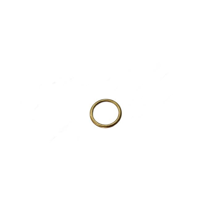 Argola de metal ouro velho 3cm (100 unidades)- AV002 ATACADO