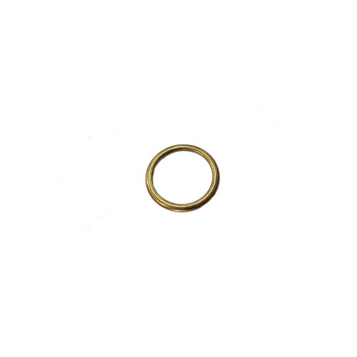 Argola de metal ouro velho 3,0cm (100 unidades)- AV003 ATACADO