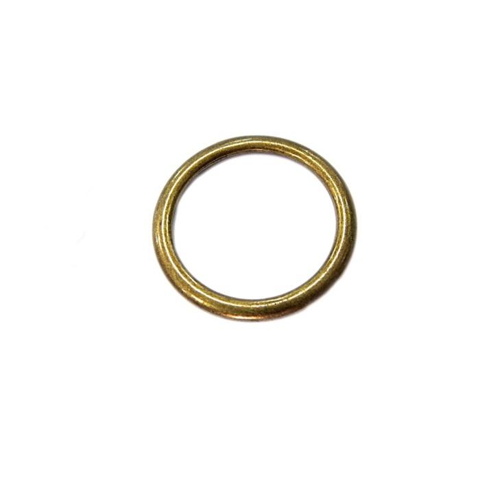 Argola de metal ouro velho 4,5cm (5 unidades)- AV005
