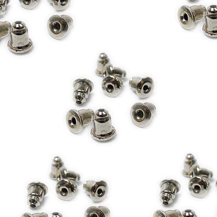Tarracha bala níquel Latão (20 pares)- TBN001