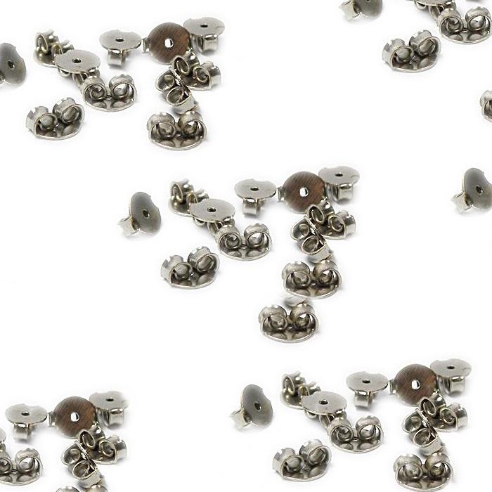 Tarracha borboleta níquel dourada (1.000 pares)- TBAN001 ATACADO