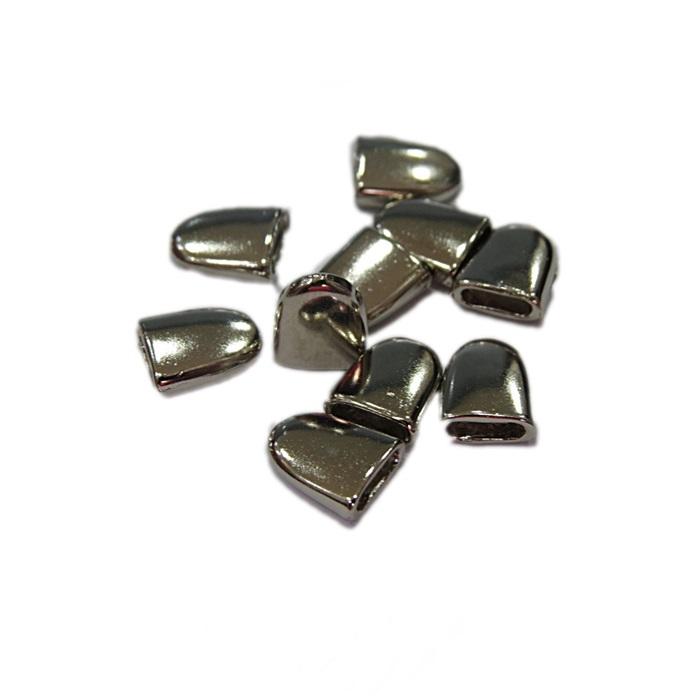 Ponteira de colagem níquel M (10 und.)- PCN002