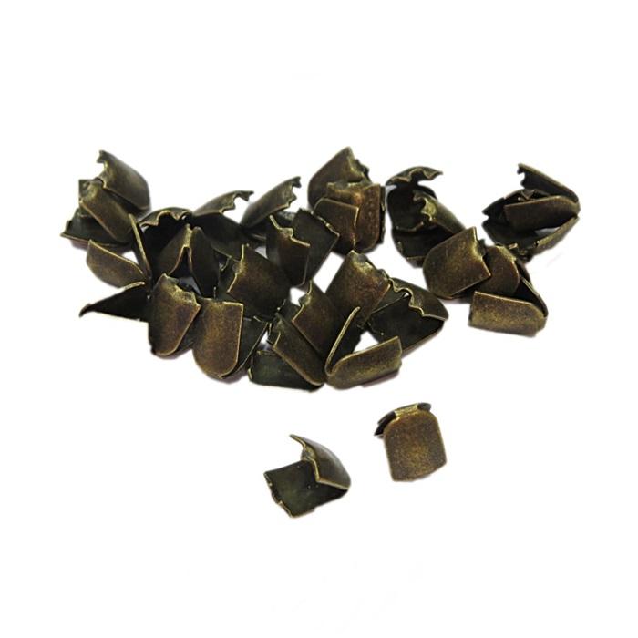 Ponteira de amassar ouro velho P (50 unid.)- PAO001