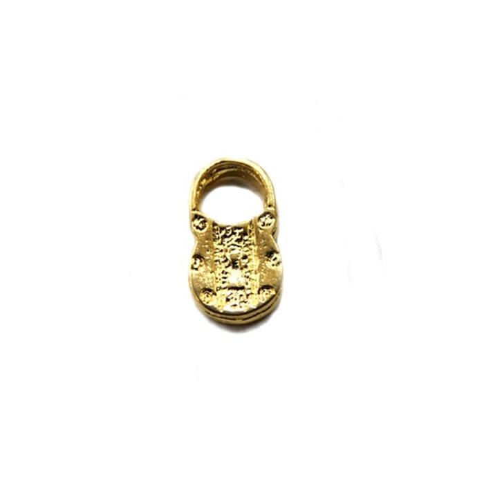 Pingente Cadeado dourado (10 unidades)- PTD010