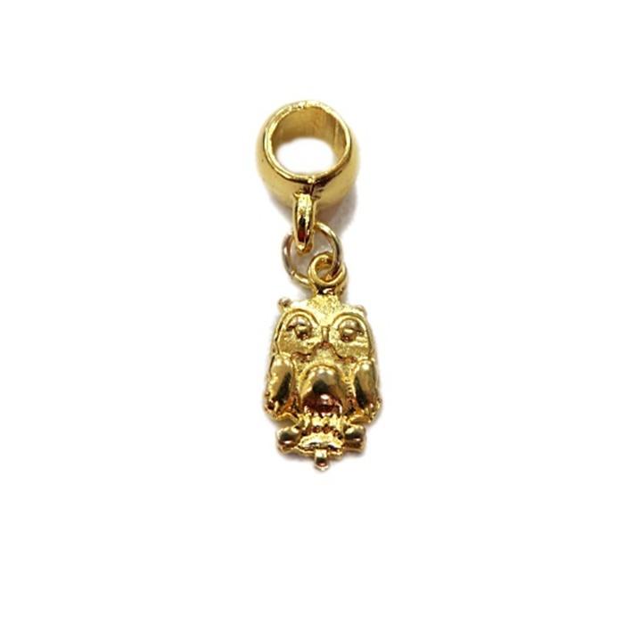 Berloque Dourado Mini Coruja BER029