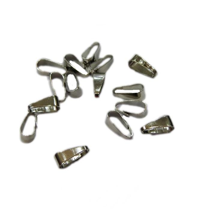 Charneira níquel lisa (50 unid.)- CHAN002