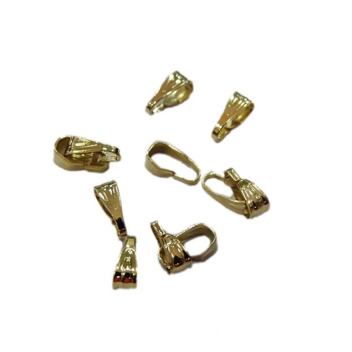 Charneira dourada trabalhada P (40 unid.)- CHAD001