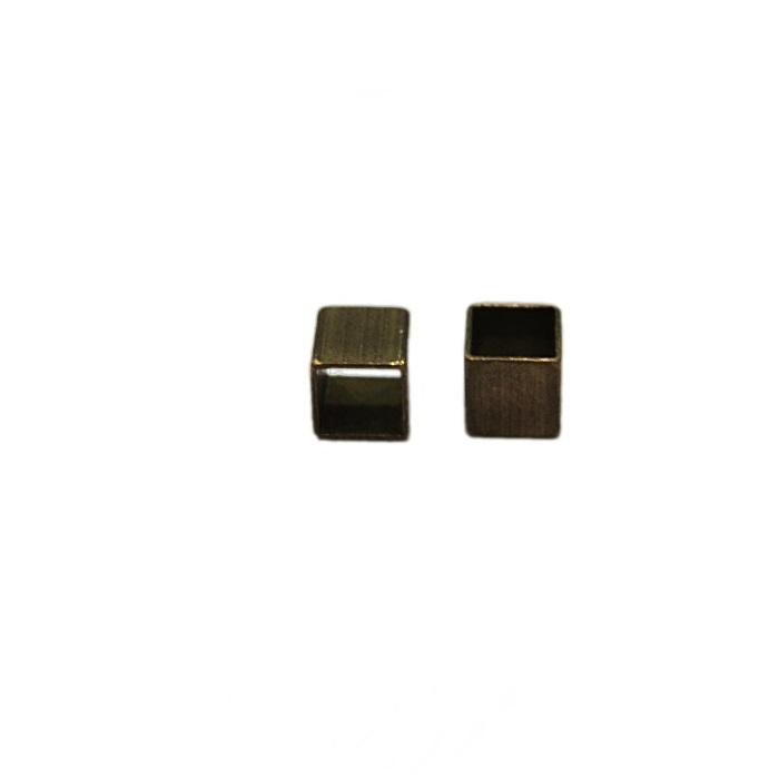 Entremeio ouro velho quadradinho (50 unid.)- ETO024