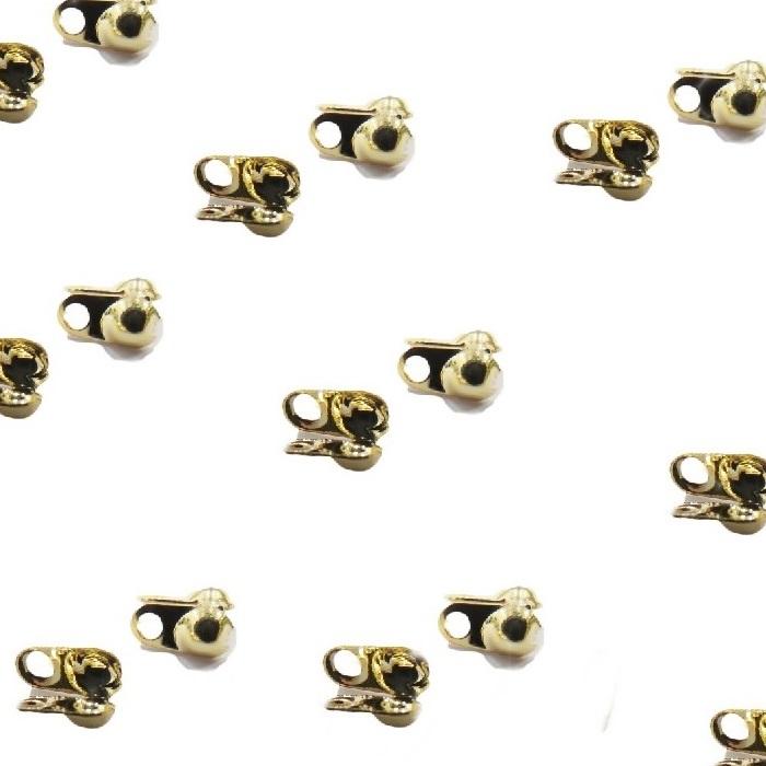 Tips Dourado Nº 2.5 (1.000 unid.)- TPD003 ATACADO