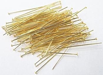 Alfinete latão Dourado  (25 gramas)- AFLD002