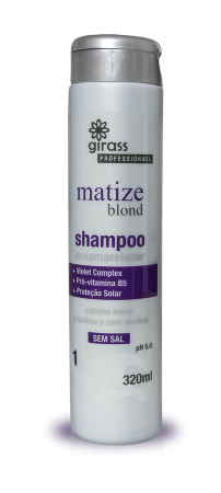 Shampoo Girass Matize Blond - 320ML
