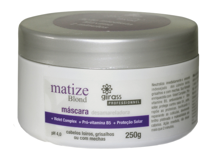 MASCARA GIRASS MATIZE BLOND-250G