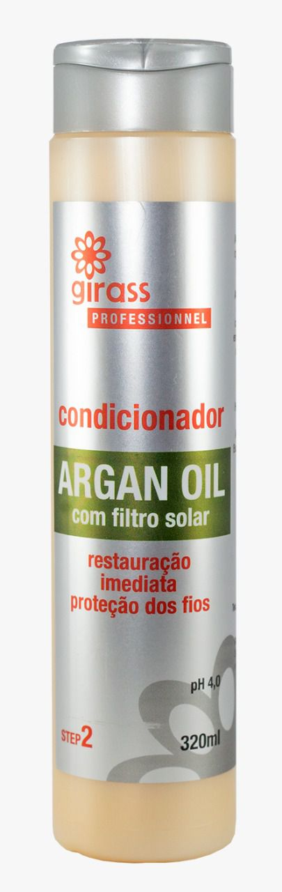 CONDICIONADOR GIRASS ARGAN OIL-320ML