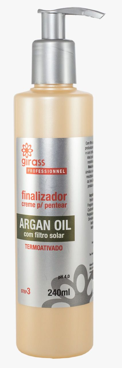 FINALIZADOR GIRASS ARGAN OIL-240ML