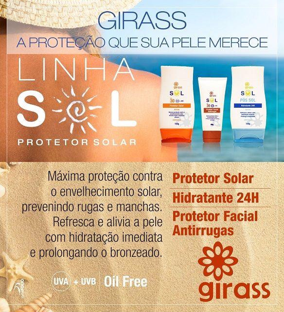 Kit Girass Protetor Solar