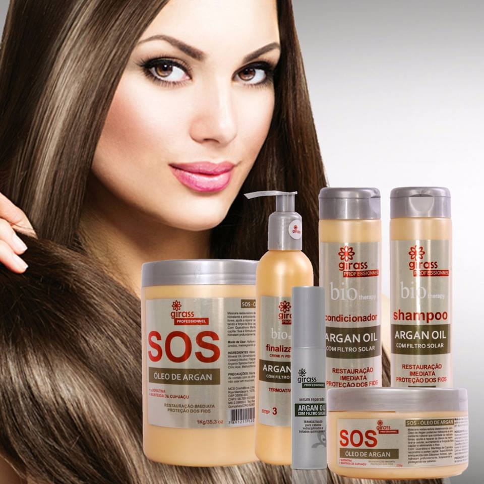 KIT GIRASS SOS ARGAN - 4 PASSOS