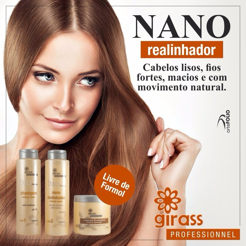 KIT LISO INTENSO GIRASS-500ML-3 PASSOS