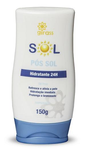 HIDRATANTE GIRASS POS SOL REFRESCANTE-150G