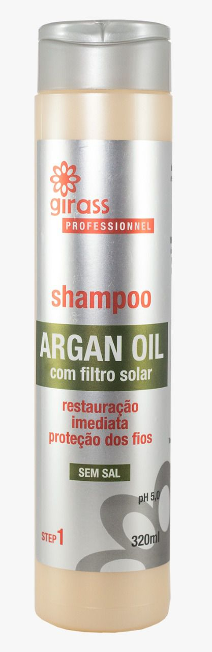 SHAMPOO GIRASS ARGAN OIL-320ML