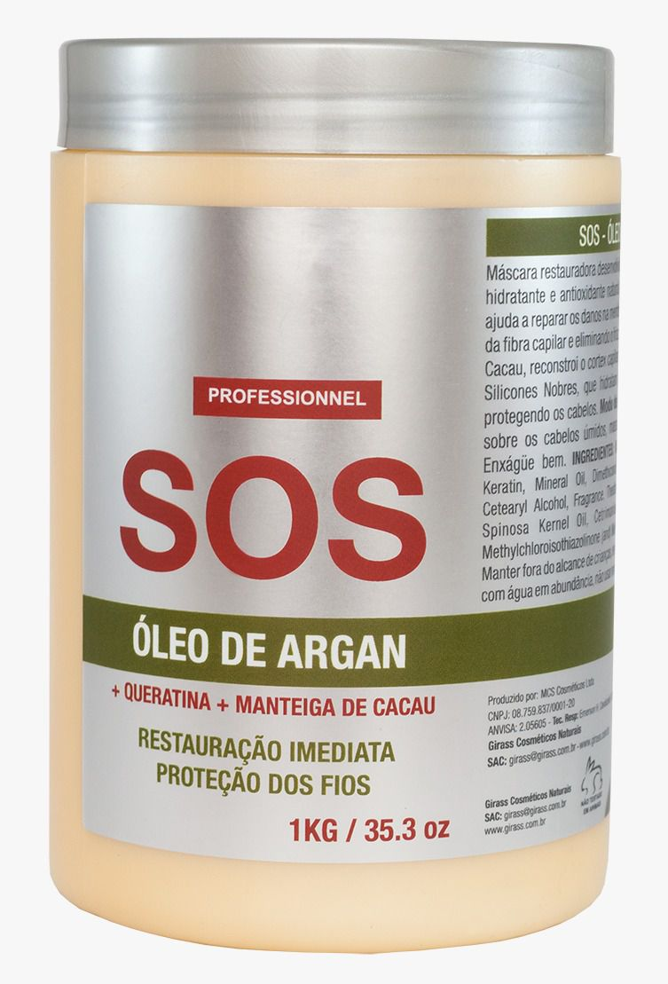 SOS Girass Argan Oil - 1000G