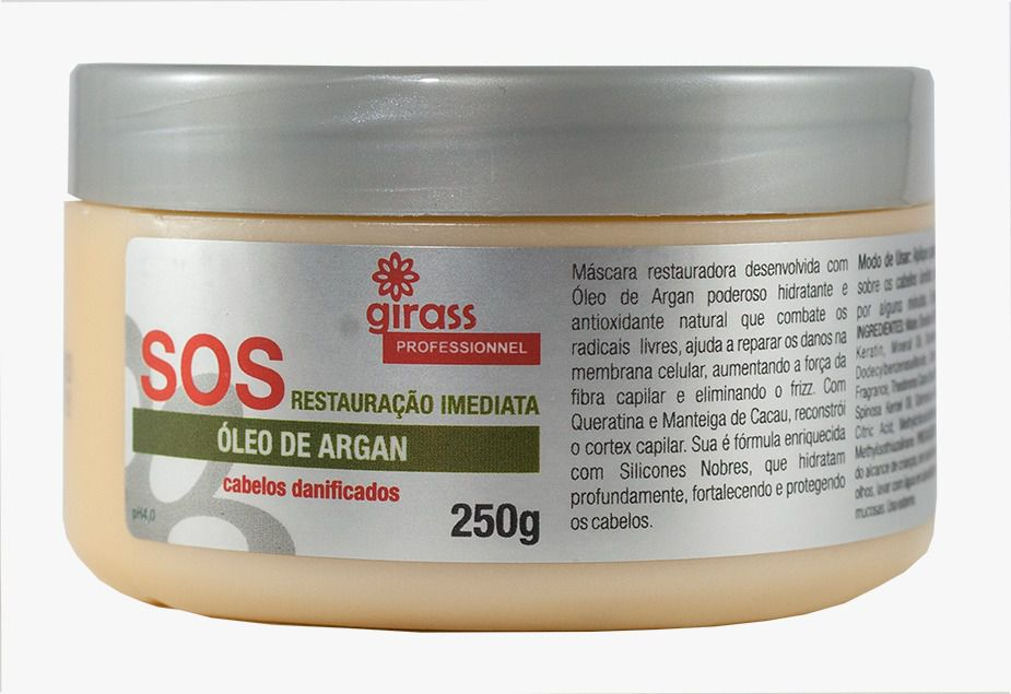 SOS Argan Oil Girass 250g