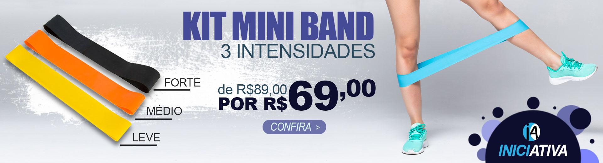 kit mini band em promoÇÃo