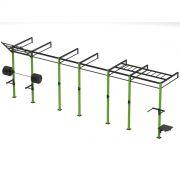 Gaiola Crossfit / Rack Funcional P006XT Iniciativa Fitness