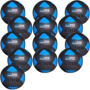 Wall Ball Kit Com 13 Medicine Ball Em Couro
