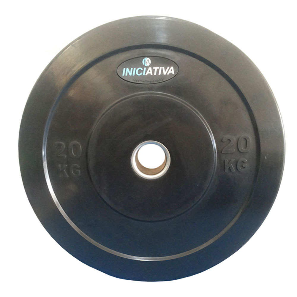 Anilha Olímpica 20kg  - Iniciativa Fitness