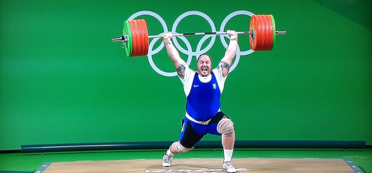 Barra Olímpica Junior 10kg  - Iniciativa Fitness