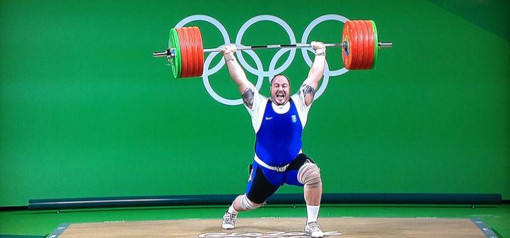 Barra Olímpica Masculina 20 kg Competição  - Iniciativa Fitness