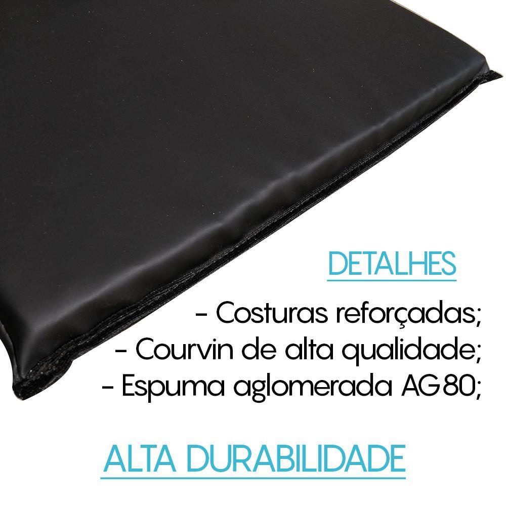 COLCHONETE ACADEMIA D80 - 95cm x 50cm x 3cm - UNIDADE | INICIATIVA FITNESS   - Iniciativa Fitness