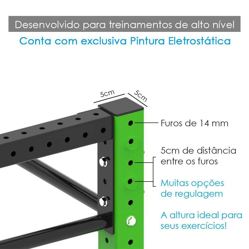 Gaiola Crossfit - 3 Módulo  - Iniciativa Fitness