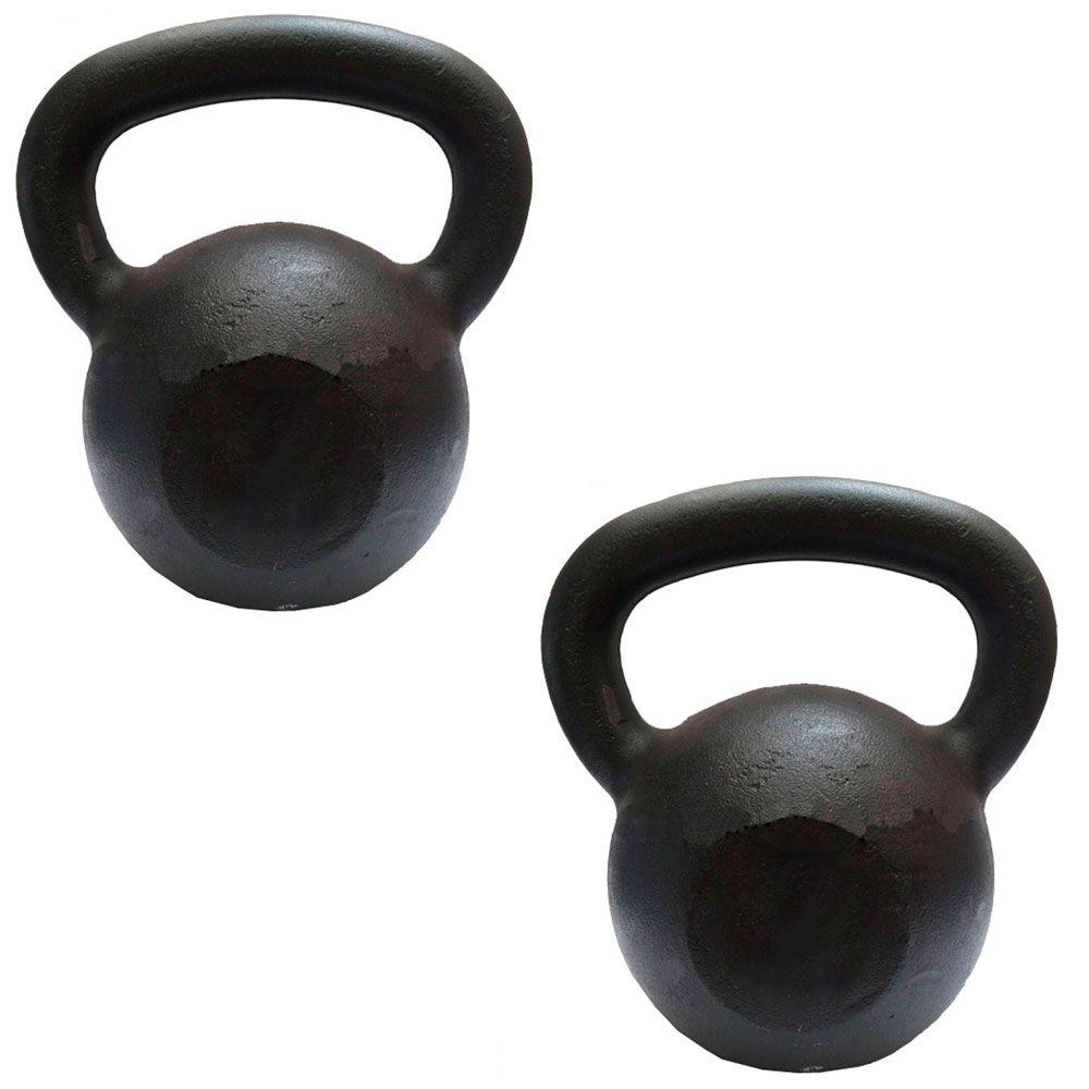 KIT KETTLEBELL 4 KG + 6 KG  - Iniciativa Fitness