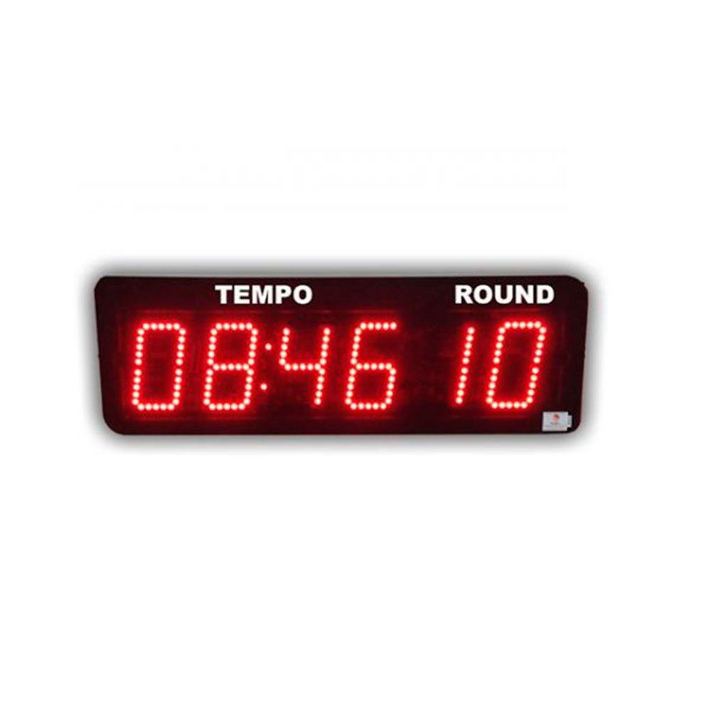 Cronometro Timer Parede Digital Painel Led Academia / Box / Crossfit  - Iniciativa Fitness