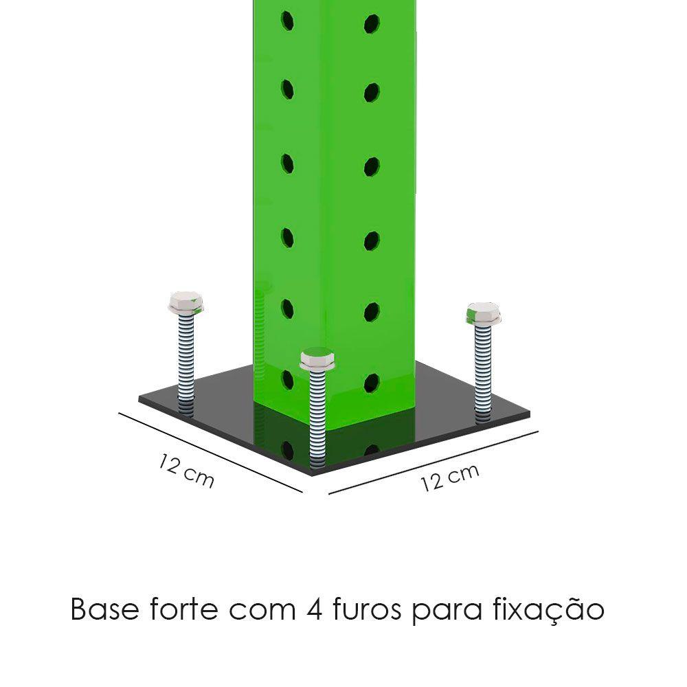 GAIOLA \ RACK - 4 MÓDULOS  - Iniciativa Fitness