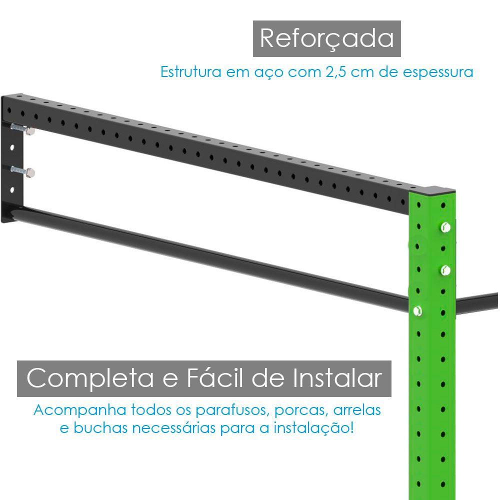 GAIOLA \ RACK - 5 MÓDULOS - SIMPLES  - Iniciativa Fitness
