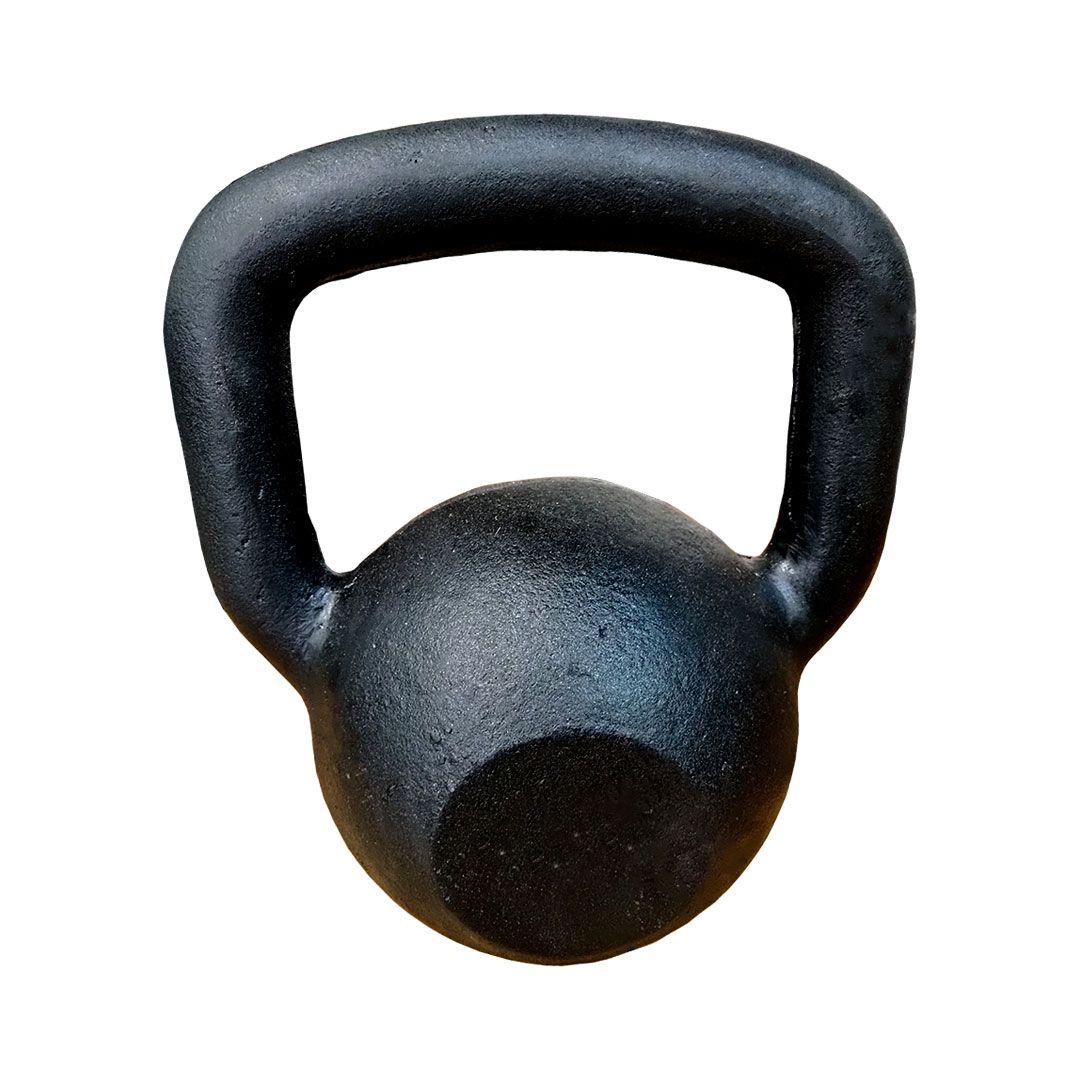 KETTLEBELL PINTADO INICIATIVA FITNESS 8KG - UNIDADE  - Iniciativa Fitness