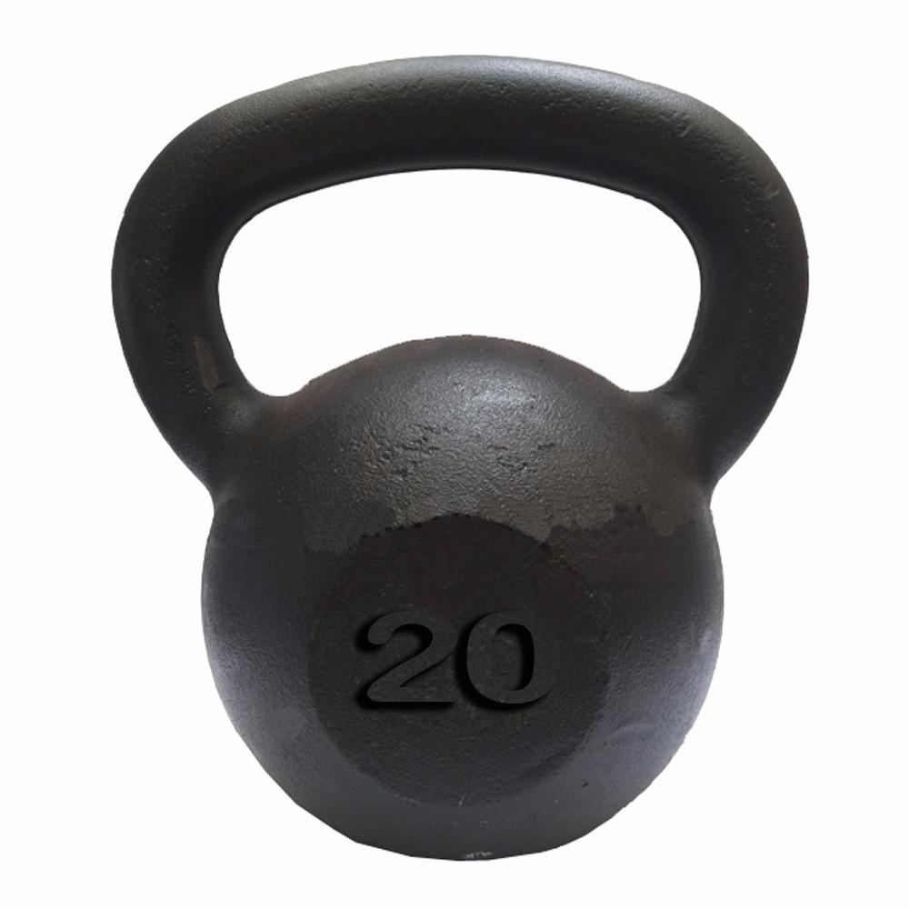 Kettlebell Pintado 20kg  - Iniciativa Fitness