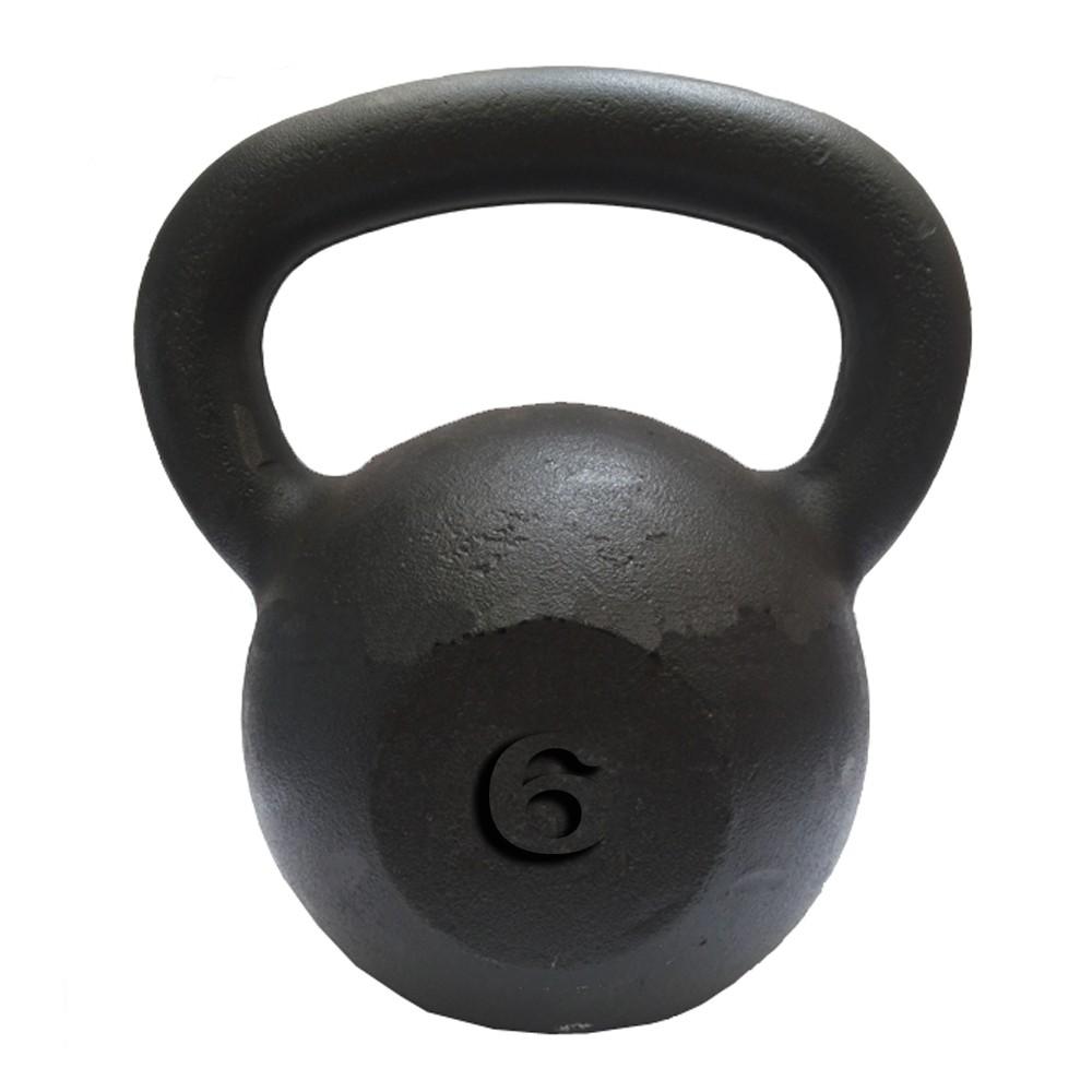 Kettlebell Pintado  6Kg  - Iniciativa Fitness