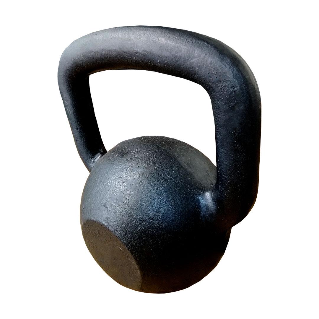 KETTLEBELL PINTADO INICIATIVA FITNESS 20KG - UNIDADE  - Iniciativa Fitness
