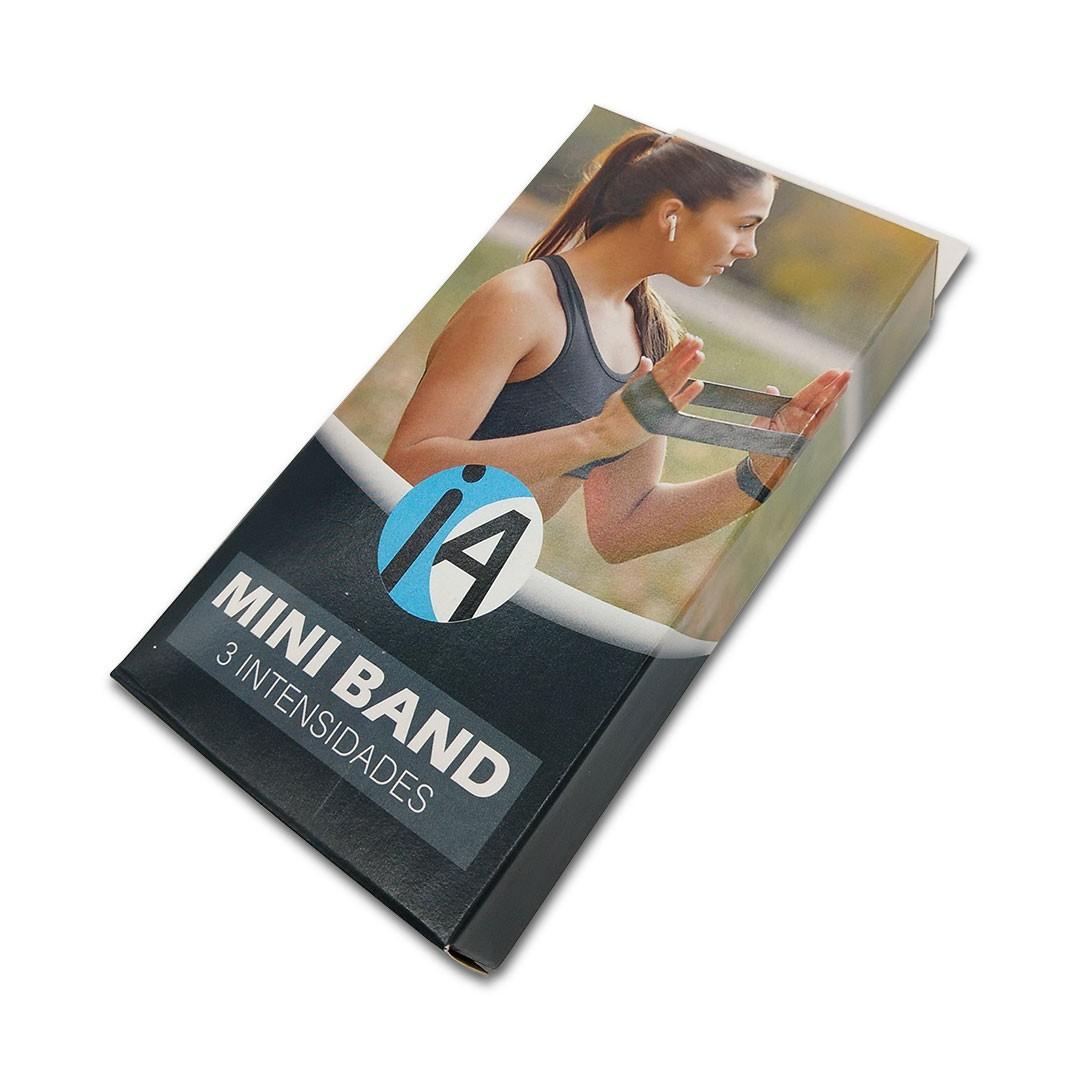 KIT 1 HALTER REVESTIDO 9KG + 1 KIT DE MINI BAND C/ 3 INTENSIDADES  - Iniciativa Fitness