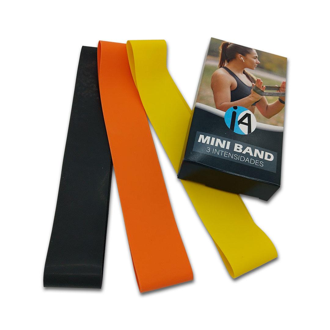KIT C/50 MINI BAND INICIATIVA FITNESS - 3 INTENSIDADES  - Iniciativa Fitness
