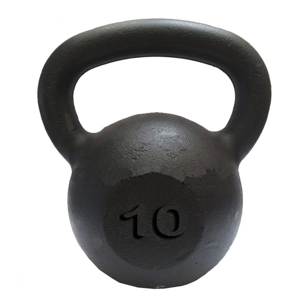 KIT KETTLEBELL 4 KG + 6 KG + 8 KG + 10 KG  - Iniciativa Fitness