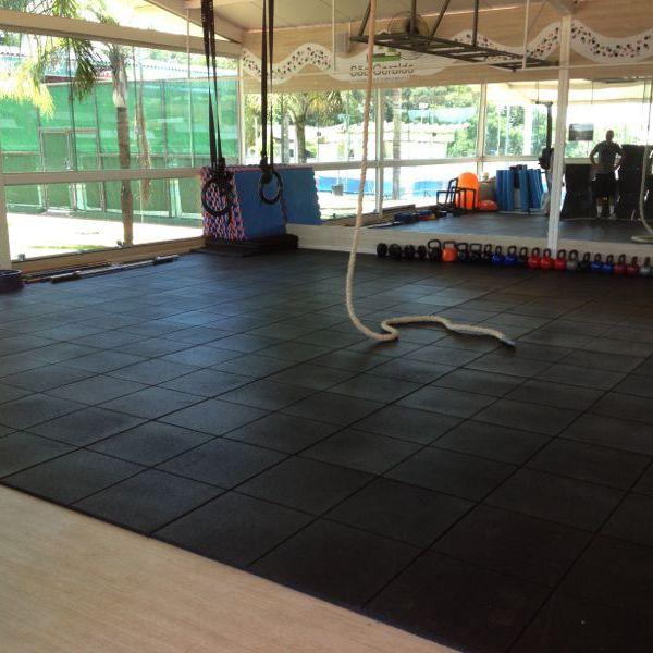 Piso Emborrachado - 27mm (m²)  - Iniciativa Fitness